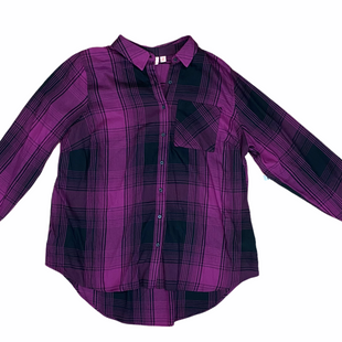 Primary Photo - BRAND:    EVRI STYLE: TOP LONG SLEEVE COLOR: PLAID SIZE: 1X OTHER INFO: EVRI - SKU: 223-22364-40633