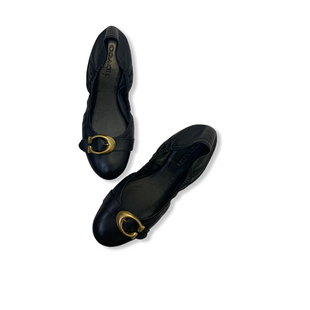 Primary Photo - BRAND: COACH STYLE: SHOES FLATS COLOR: BLACK SIZE: 7 SKU: 223-22343-17456