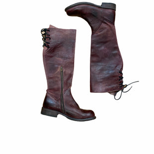 Primary Photo - BRAND: BED STU STYLE: BOOTS KNEE COLOR: MAROON SIZE: 7.5 SKU: 223-22361-20354