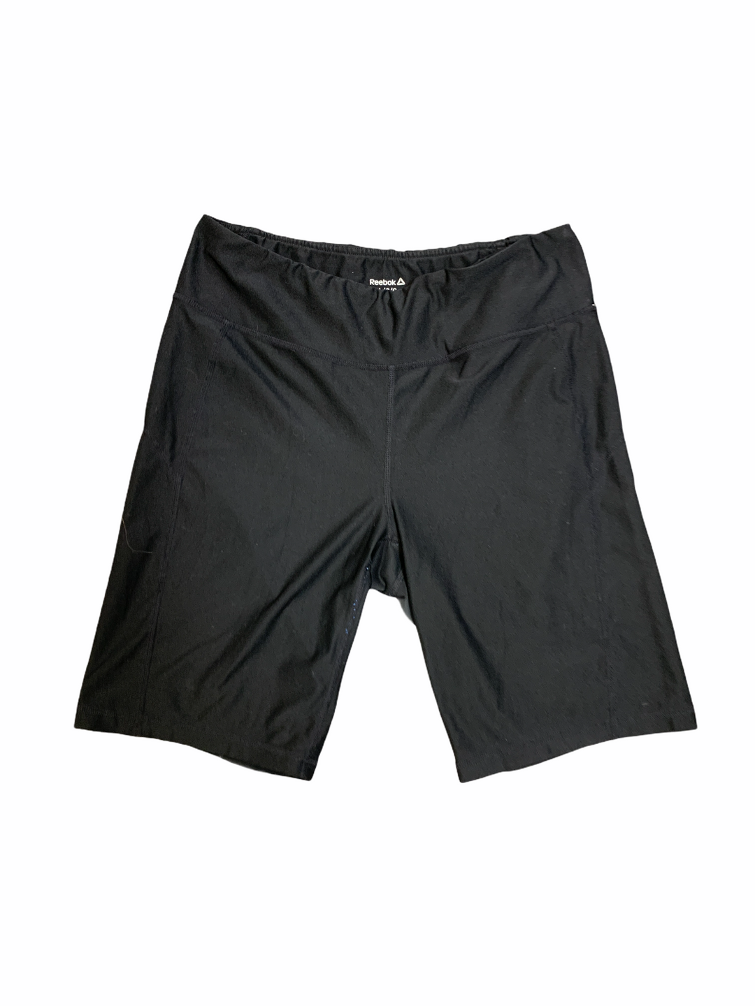 Primary Photo - BRAND: REEBOK <BR>STYLE: ATHLETIC SHORTS <BR>COLOR: BLACK <BR>SIZE: L <BR>SKU: 223-22393-5880