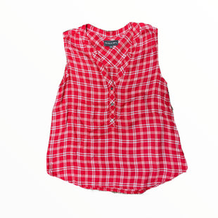 Primary Photo - BRAND: MICHAEL STARS STYLE: TOP SLEEVELESS COLOR: RED WHITE SIZE: M OTHER INFO: PLAID SKU: 223-22370-17623