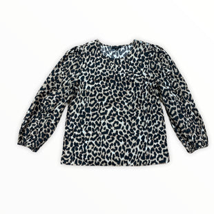 Primary Photo - BRAND: J CREW STYLE: TOP LONG SLEEVE COLOR: ANIMAL PRINT SIZE: S SKU: 223-22343-20634