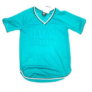 Primary Photo - BRAND:   CMC STYLE: ATHLETIC TOP SHORT SLEEVE COLOR: TEAL SIZE: S OTHER INFO: IVY PARK - SKU: 223-22318-106420