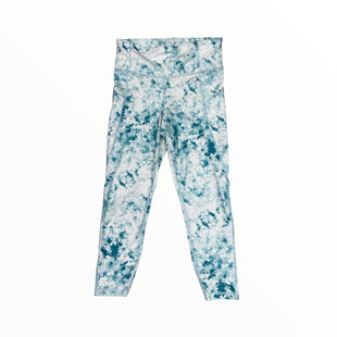 Primary Photo - BRAND: GAPFIT STYLE: ATHLETIC PANTS COLOR: WHITE GREEN SIZE: M OTHER INFO: TIEDYE SKU: 223-22318-118713