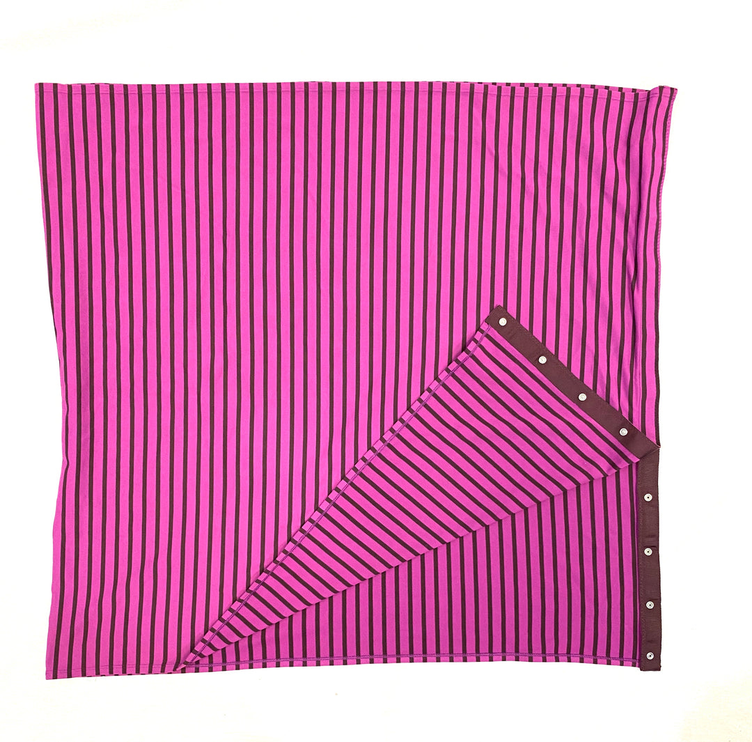 "Photo #1 - GREAT SCARF OR NURSING COVER <BR>DIMENSIONS - 27"" X 58""<BR><BR><BR>BRAND: LULULEMON <BR>STYLE: SCARF <BR>COLOR: PURPLE <BR>OTHER INFO: VINYASSA <BR>SKU: 223-22318-106669"