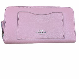 Primary Photo - BRAND: COACH STYLE: WALLET COLOR: DUSTY PINK SIZE: LARGE OTHER INFO: SILVER SKU: 223-22318-114642