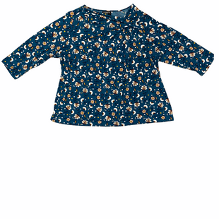 Primary Photo - BRAND: LIZ CLAIBORNE STYLE: TOP LONG SLEEVE COLOR: TEAL SIZE: 3X OTHER INFO: FLORAL SKU: 223-22318-118434