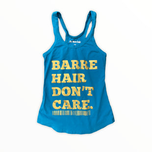 Primary Photo - BRAND:    BARRE CODESTYLE: ATHLETIC TANK TOP COLOR: TEAL SIZE: S OTHER INFO: THE BARRE CODE - BARRE CODE SKU: 223-22318-118604