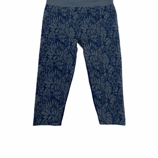Primary Photo - BRAND: FABLETICS STYLE: ATHLETIC CAPRIS COLOR: SLATE BLUE SIZE: L OTHER INFO: FLORAL DESIGN SKU: 223-22343-20440