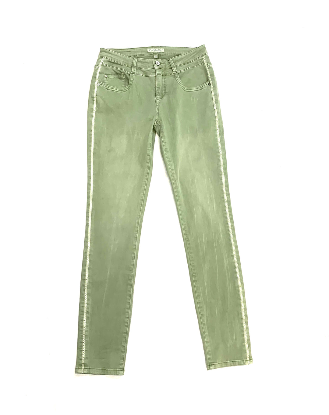 Primary Photo - BRAND:    CLOTHES MENTOR <BR>STYLE: PANTS <BR>COLOR: GREEN <BR>SIZE: 4 <BR>OTHER INFO: RED BUTTON - <BR>SKU: 223-22318-106300