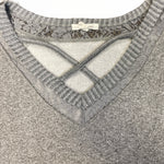 Photo #1 - BRAND: MAURICES <BR>STYLE: SWEATER HEAVYWEIGHT <BR>COLOR: GREY <BR>SIZE: 2X <BR>SKU: 223-22361-21831
