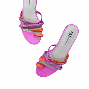 Primary Photo - BRAND: NEIMAN MARCUS STYLE: SANDALS LOW COLOR: ORANGEPINK SIZE: 6.5 SKU: 223-22343-20840
