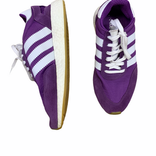 Primary Photo - BRAND: ADIDAS STYLE: SHOES ATHLETIC COLOR: PURPLE SIZE: 9.5 SKU: 223-22364-40870