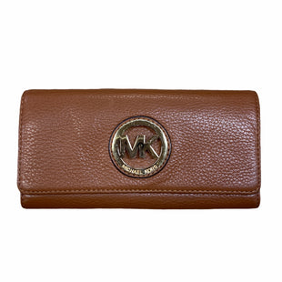 Primary Photo - BRAND: MICHAEL KORS STYLE: WALLET COLOR: CAMEL SIZE: LARGE SKU: 223-22361-20831