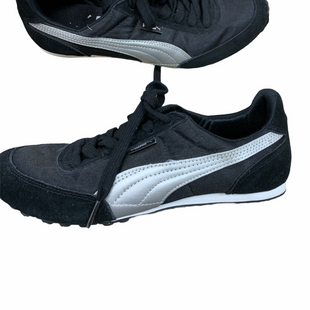 Primary Photo - BRAND: PUMA STYLE: SHOES ATHLETIC COLOR: BLACK SIZE: 7.5 SKU: 223-22364-34705