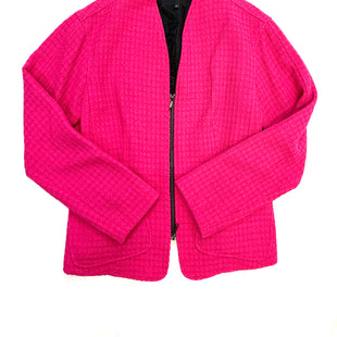 Primary Photo - BRAND: LAFAYETTE 148 STYLE: JACKET OUTDOOR COLOR: FUSCHIA SIZE: 10 SKU: 223-22343-16697