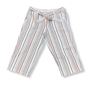 Primary Photo - BRAND: LIZ CLAIBORNE STYLE: CAPRIS COLOR: STRIPED SIZE: L OTHER INFO: WHITE PINK BLUE SKU: 223-22361-22333