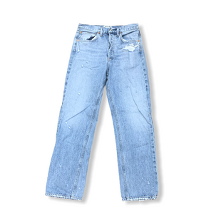 Primary Photo - BRAND:    CLOTHES MENTOR STYLE: JEANS DESIGNER COLOR: DENIM SIZE: 2 OTHER INFO: AGOLDE - SKU: 223-22370-17083