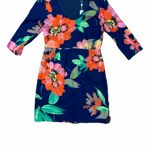Primary Photo - BRAND: TRINA TURK STYLE: DRESS SHORT LONG SLEEVE COLOR: FLORAL SIZE: 10 OTHER INFO: BLUE WIL MULTI FLOWERS SKU: 223-22361-19768