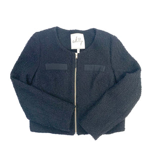 Primary Photo - BRAND: MILLY STYLE: JACKET OUTDOOR COLOR: BLACK SIZE: 10 SKU: 223-22318-107485