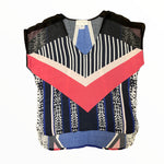 Primary Photo - BRAND: ANTHROPOLOGIE <BR>STYLE: TOP SLEEVELESS <BR>COLOR: MULTI <BR>SIZE: XS <BR>OTHER INFO: BLK/BLU/DSTY PNK/CRM/CORL <BR>SKU: 223-22343-19078