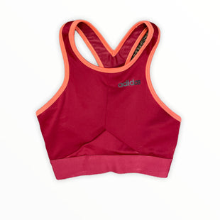 Primary Photo - BRAND: ADIDAS STYLE: BRA COLOR: RED SIZE: XS SKU: 223-22364-42160