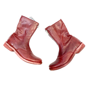 Primary Photo - BRAND: JEFFERY CAMPBELL STYLE: BOOTS ANKLE COLOR: MAROON SIZE: 8.5 SKU: 223-22364-34348
