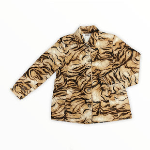 Primary Photo - BRAND: CHICOS STYLE: JACKET OUTDOOR COLOR: ANIMAL PRINT SIZE: L SKU: 223-22361-21582