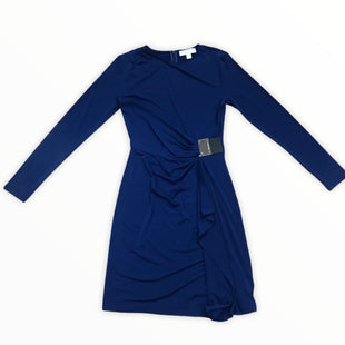 Primary Photo - BRAND: MICHAEL BY MICHAEL KORS STYLE: DRESS SHORT LONG SLEEVE COLOR: NAVY SIZE: S SKU: 223-22318-113829