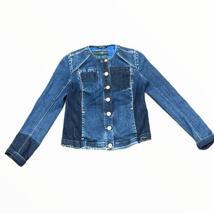 Primary Photo - BRAND:  HIGH BLUESTYLE: JACKET OUTDOOR COLOR: DENIM SIZE: 10 OTHER INFO: HIGH - BLUE - SKU: 223-22364-43498