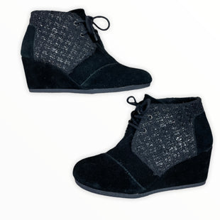 Primary Photo - BRAND: TOMS STYLE: BOOTS ANKLE COLOR: BLACK SIZE: 8.5 SKU: 223-22393-7269