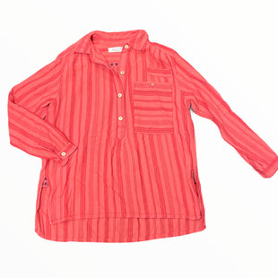 Primary Photo - BRAND: WE THE FREE STYLE: TUNIC LONG SLEEVE COLOR: STRIPED SIZE: XS OTHER INFO: CORAL AND RED SKU: 223-22361-22495