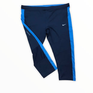 Primary Photo - BRAND: NIKE APPAREL STYLE: ATHLETIC CAPRIS COLOR: BLUE SIZE: 2X SKU: 223-22361-20493