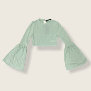 Primary Photo - BRAND:    NASTY GAL STYLE: TOP LONG SLEEVE COLOR: MINT SIZE: 0 OTHER INFO: NASTY GAL - SKU: 223-22364-41633