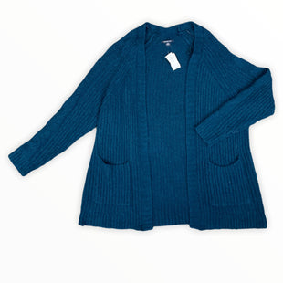 Primary Photo - BRAND: AMERICAN EAGLE STYLE: SWEATER CARDIGAN LIGHTWEIGHT COLOR: TEAL SIZE: L SKU: 223-22393-5869