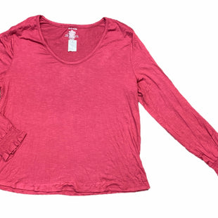 Primary Photo - BRAND: MAURICES STYLE: TOP LONG SLEEVE BASIC COLOR: MAROON SIZE: 2X SKU: 223-22343-22364