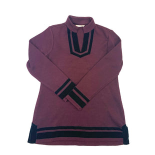 Primary Photo - BRAND: SOFT SURROUNDINGS STYLE: SWEATER HEAVYWEIGHT COLOR: BURGUNDY SIZE: M OTHER INFO: BURGANDY AND BLACK SKU: 223-22361-18038