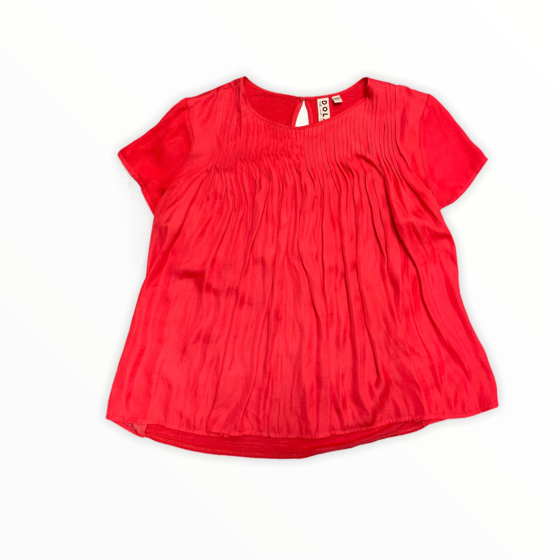 Primary Photo - BRAND: DOLAN LEFT COAST <BR>STYLE: TOP SHORT SLEEVE <BR>COLOR: CORAL <BR>SIZE: L <BR>SKU: 223-22318-120477