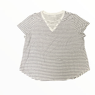 Primary Photo - BRAND: MAURICES STYLE: TOP SHORT SLEEVE COLOR: STRIPED SIZE: 3X OTHER INFO: CREAM W BLACK SKU: 223-22361-21860