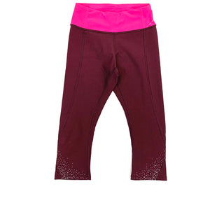 Primary Photo - BRAND: LULULEMON STYLE: ATHLETIC CAPRIS COLOR: BURGUNDY SIZE: 2 SKU: 223-22318-106501