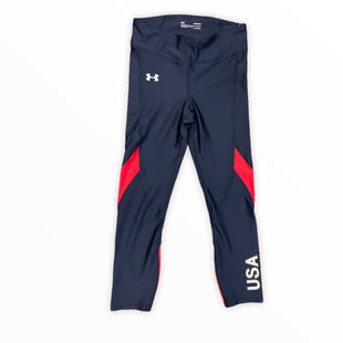 Primary Photo - BRAND: UNDER ARMOUR STYLE: ATHLETIC PANTS COLOR: NAVY SIZE: M SKU: 223-22364-42157