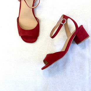 Primary Photo - TORRID 8 WIDE BRAND: TORRID STYLE: SANDALS LOW COLOR: RED SIZE: 8 SKU: 223-22318-103152