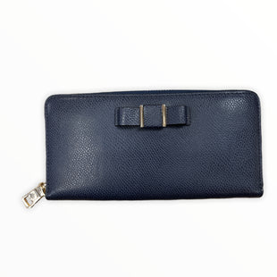 Primary Photo - BRAND: COACH STYLE: WALLET COLOR: NAVY SIZE: LARGE OTHER INFO: GOLD SKU: 223-22318-119601