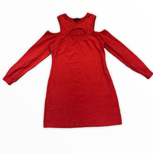Primary Photo - BRAND: BOSTON PROPER STYLE: DRESS SHORT LONG SLEEVE COLOR: RED SIZE: M SKU: 223-22343-19947