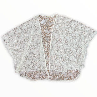 Primary Photo - BRAND: LIBERTY LOVE STYLE: COVERUP COLOR: CREAM SIZE: 3X SKU: 223-22318-119833