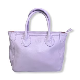 Primary Photo - BRAND:  CMB STYLE: HANDBAG DESIGNER COLOR: LAVENDER SIZE: SMALL OTHER INFO: BECK - BECKINI LEATHER XBODY SKU: 223-22318-122162