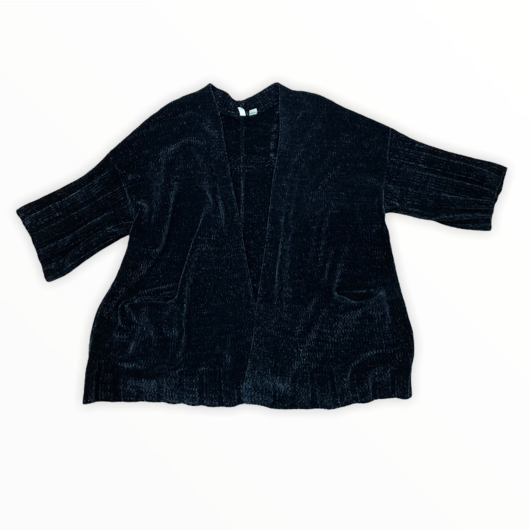 Primary Photo - BRAND: MOTH <BR>STYLE: SWEATER CARDIGAN HEAVYWEIGHT <BR>COLOR: BLACK <BR>SIZE: L <BR>SKU: 223-22393-6289