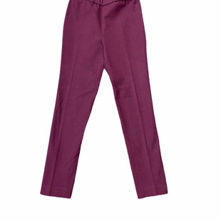 Primary Photo - BRAND: KATE SPADE STYLE: PANTS COLOR: BURGUNDY SIZE: 0 SKU: 223-223100-786