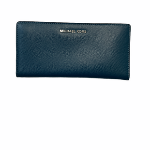 Primary Photo - BRAND: MICHAEL KORS STYLE: WALLET COLOR: BLUE SIZE: LARGE SKU: 223-22364-40862