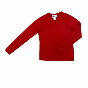 Primary Photo - BRAND: ELLEN TRACY STYLE: SWEATER CASHMERE COLOR: RED SIZE: XS SKU: 223-22318-115453